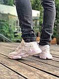 Мужские кроссовки в стиле Adidas Ozweego (White), Адидас Озвиго (Реплика ААА), фото 7
