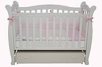 Детская кроватка Соня ЛД 15 маятник (белый)