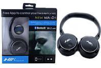 Беспроводные Bluetooth стерео наушники NIA Q1 с Mp3 плеером и Fm!Топ Продаж