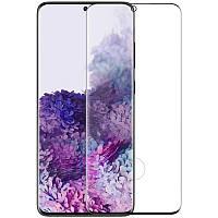 Протиударне Захисне скло Nillkin CP+ max 3D для Samsung Galaxy S20 Прозорий / Чорний (34276-974)