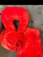 Подушка - підкова, червона
