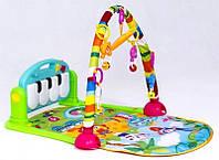Коврик детский развивающий PIANO FITNESS RACKНЕ, музыкальный игровой коврик! Скидка