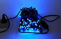 Гирлянда светодиодная 100 LED String светодиодная гирлянда нить с мерцанием синяя 10 м