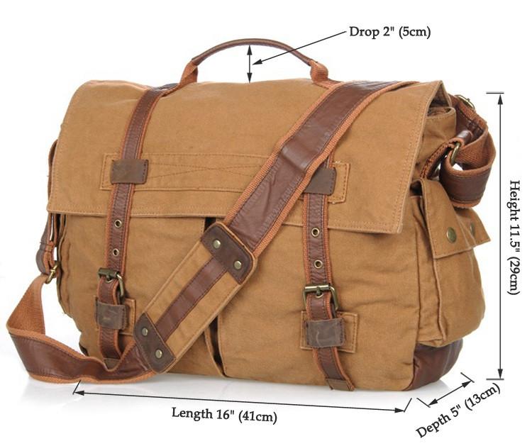 Кожаная мужская сумка кросс - боди 9009B