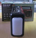 Радіо акумуляторне з USB, SD Golon M-U41 (ліхтар, годинники), фото 3