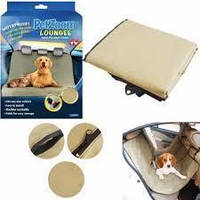 Защитный коврик в машину для собак PetZoom, коврик для животных в автомобиль, чехол для перевозки! Скидки