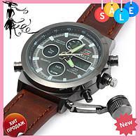 Мужские наручные армейские часы AMST Watch | кварцевые противоударные часы! Топ продаж