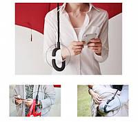 Умный зонт , антизонт или зонт-наоборот , зонт обратного сложения up-brella цветки!Топ Продаж