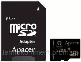 MicroSDHC (UHS-1) Apacer 32Gb class 10 (adapter SD)