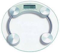 Весы бытовые ВІТЕК напольные стекло круглые для взвешивания до 180кг ВТ-1603А! Скидка