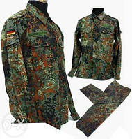 КОМПЛЕКТ китель+брюки Камуфляж армии Германии флектарн Flektarn оригинал ОПТ и розница купить Киев