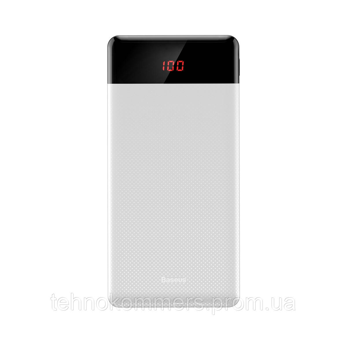 Зовнішній акумулятор Baseus Mini Cu Digital Display 10000 mAh White