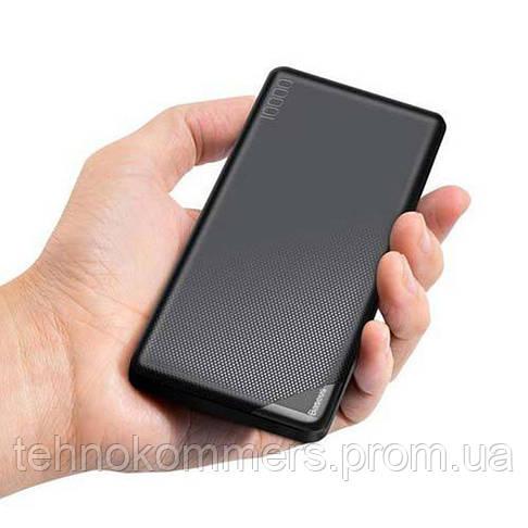 Зовнішній акумулятор Baseus Mini Cu PB 10000 mAh Black, фото 3