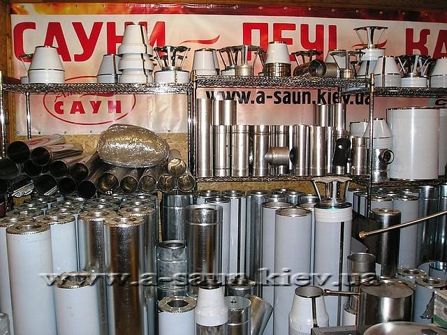 Продажа дымоходов из нержавеющей  стали 1 мм AISI 321.