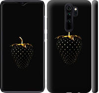 "Чехол на Xiaomi Redmi Note 8 Pro Черная клубника ""3585c-1783-25393"""