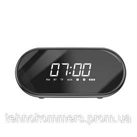 Настільний годинник Baseus Encok Wireless Speaker E09 Black