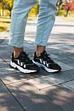 Мужские кроссовки в стиле Adidas Ozweego (Black/White), Адидас Озвиго (Реплика ААА), фото 3