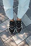 Мужские кроссовки в стиле Adidas Ozweego (Black/White), Адидас Озвиго (Реплика ААА), фото 6