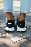 Мужские кроссовки в стиле Adidas Ozweego (Black/White), Адидас Озвиго (Реплика ААА), фото 7