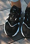Мужские кроссовки в стиле Adidas Ozweego (Black/White), Адидас Озвиго (Реплика ААА), фото 5
