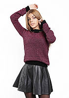 Стильный теплый женский джемпер от производителя Розовый