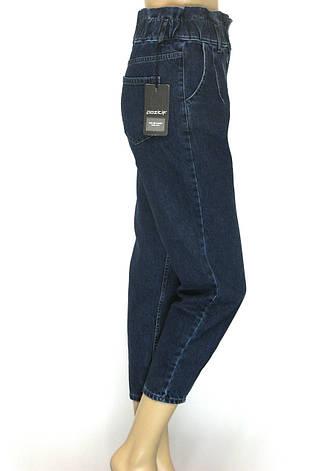 Жіночі джинси балони з поясом на резинці Pozitif jeans, фото 2