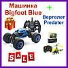 Машинка на радиоуправлении Bigfoot Blue (Синий) 40см. Радиоуправляемая машинка перевертыш бигфут