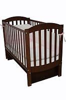 Детская кроватка Соня ЛД 10 маятник (орех)