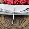 Серебряный крестик размер 42х24 мм вставка белые фианиты вес 1.35 г, фото 3