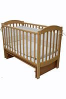 Детская кроватка Соня ЛД 10 маятник (бук)