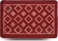 Коврик для ванной комнаты Dariana Плитка 40х60 красный