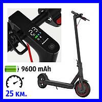 Электросамокат Crosser E9 Premium 9.6 Ah Black черный.