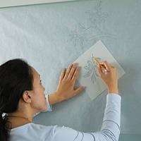 Разрисовка трафаретами стен