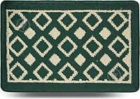 Коврик для ванной комнаты Dariana Плитка 40х60 зеленый