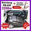 Пылесос с мешком Rainberg RB-656 3200W пылесос Раинберг Пылесос с мешком для пыли. Мешковой пылесборник 5 л