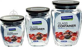 Набор емкостей для хранения 3 шт. HG-638 Glasslock