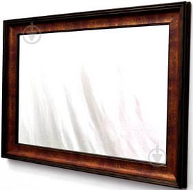 Зеркало X6 WE5385-532 в бордовой багетной раме 50х70 см