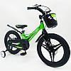 """✅Магнезиевый Велосипед «MARS-2 Evolution» 14"""" Дюймов Зеленый Есть в наличии!, фото 5"""