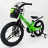 """✅Магнезиевый Велосипед «MARS-2 Evolution» 14"""" Дюймов Зеленый Есть в наличии!, фото 6"""