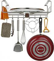 Держатель для кухонных принадлежностей Lemax YJ-G-1556 427x290x150 мм хром