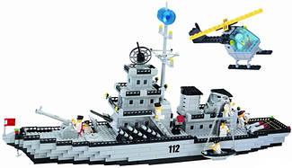 Конструктор BRICK 112 Военный корабль