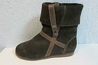 Ботинки женские Magiland 32632-7 зеленые код 815а