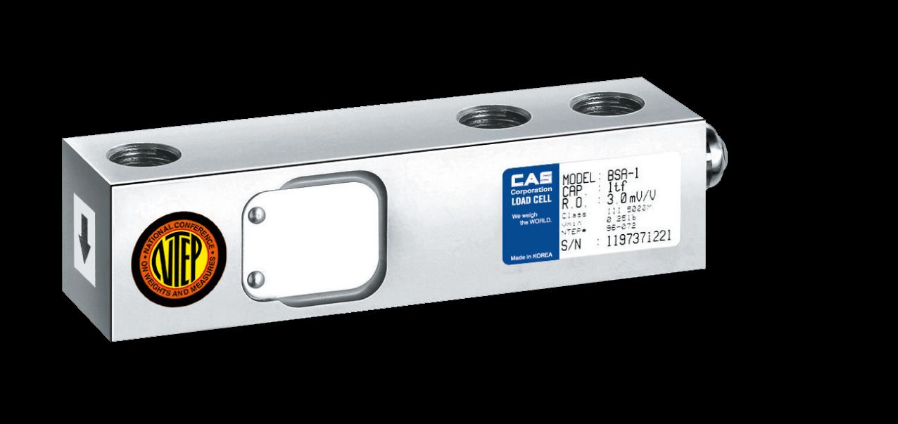 Тензодатчик стальной консольного типа CAS BSA (C3) 500 кг