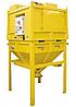 Сверхмощный промышленный пылесос COMPACT 45 kW – AC45 AV-TR с бункером на 1300л