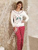 Женская пижама Mel Bee (Sahinler) MBP 22347, костюм домашний с брюками