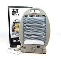Инфракрасный кварцевый электрический обогреватель Opera OP-H0004, 800Вт.