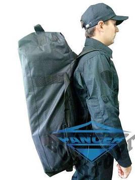 Сумка рюкзак 80л черная Pancer
