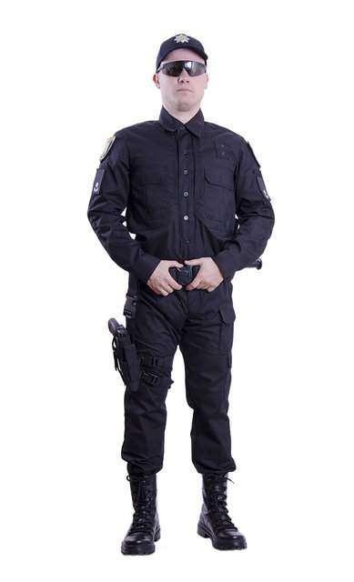 Форма украинской полиции копия оригинала водоотталкивающая Pancer
