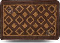 Коврик для ванной комнаты Dariana Плитка 40х60 коричневый