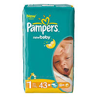 Подгузники Pampers (1) newborn 2-5 кг 43 шт.